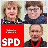 SPD-Fraktion: Doris Spieß, Birgit Ewert und Udo Mann